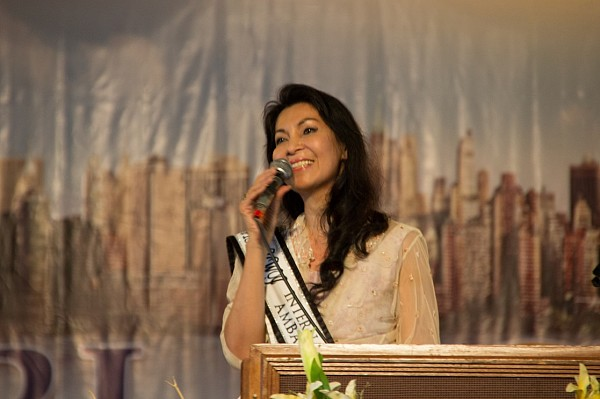 %u201CStanding true to your principle will not dissuade you from doing right amidst hostile situations,%u201D testified Ms Joyce Pilarsky, the reigning Ms Magnificent Woman Icon 2013-2014, as she spoke during the Festival.