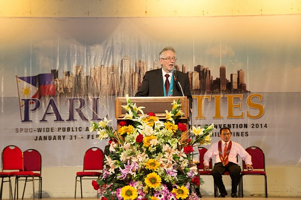 """Many thousands of Adventists in other parts of the globe would want to be here with us, but they cannot. You must be so privileged to have this freedom to come and worship God,"" said Dr John Graz, director of Public Affairs and Religious Liberty of the Seventh-day Adventist World Church, as he opened his message at the Festival of Religious Freedom held in Davao City, Philippines, February 1."