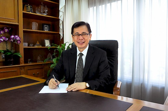 Dr. Danny Rantung, new president of Asia-Pacific International University in Thailand. [university photo]