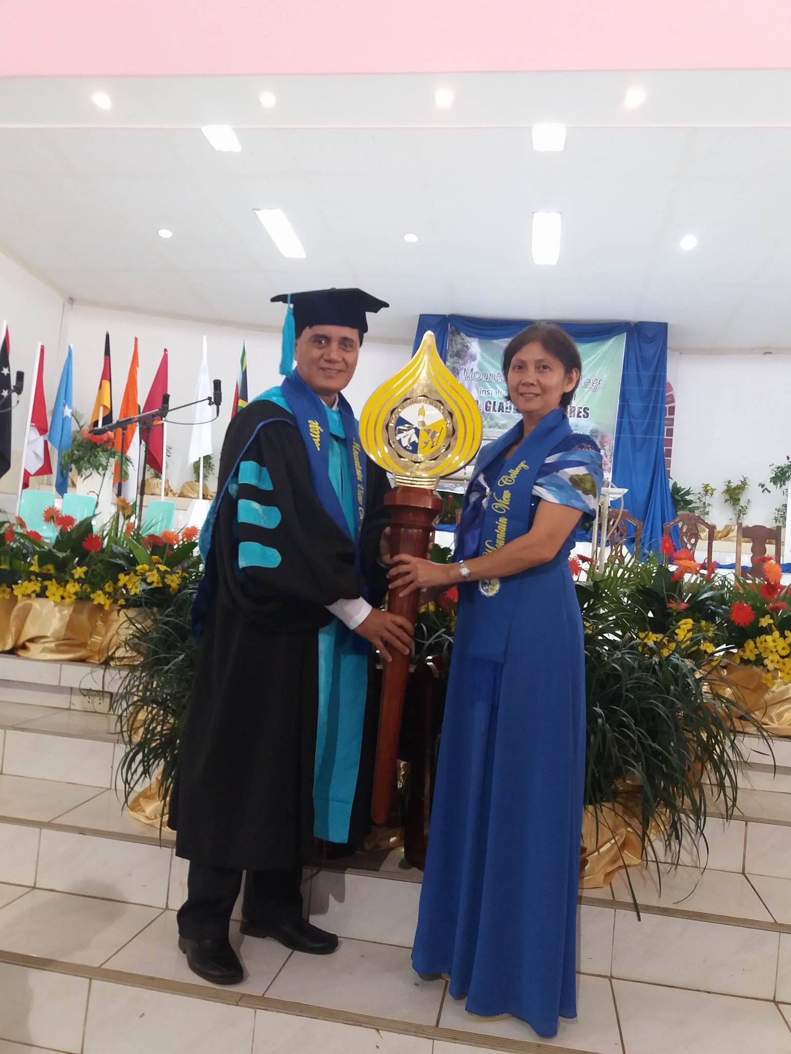 Mountain View College In The Philippines Welcomes New President